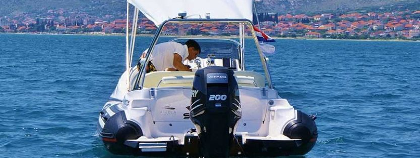 Rent a boat in Split – ZAR 65 SUITE XL